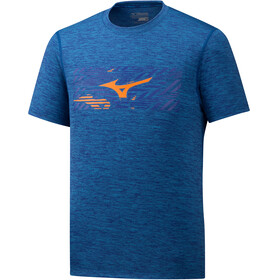 Mizuno Impulse Core - T-shirt course à pied Homme - bleu